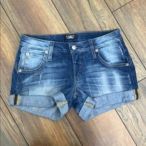 Bebe Denim Shorts